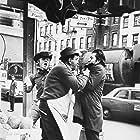 Dustin Hoffman, Jon Voight, and Peter Scalia in Midnight Cowboy (1969)