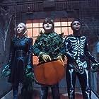 Caleel Harris, Jeremy Ray Taylor, and Madison Iseman in Goosebumps 2: Haunted Halloween (2018)