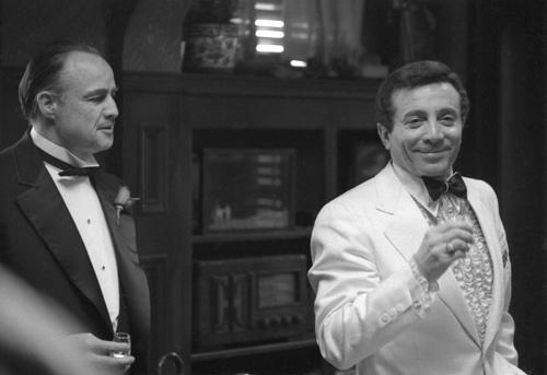 Marlon Brando and Al Martino in The Godfather (1972)