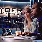 Shad Moss and Hayley Kiyoko in CSI: Cyber (2015)