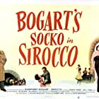 Humphrey Bogart, Lee J. Cobb, and Märta Torén in Sirocco (1951)