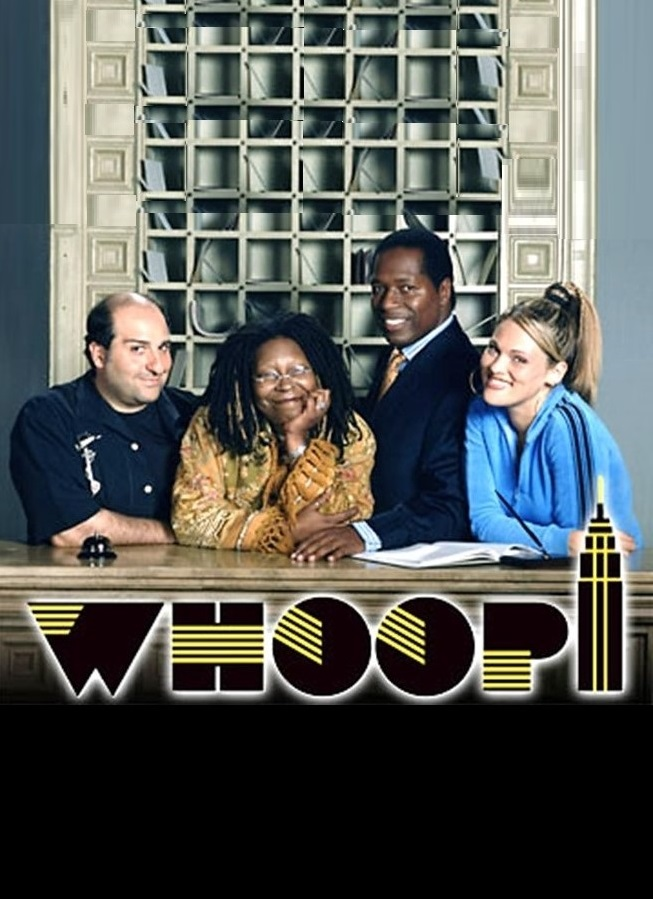 Whoopi Goldberg, Wren T. Brown, Omid Djalili, and Elizabeth Regen in Whoopi (2003)
