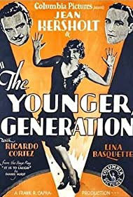 Ricardo Cortez, Lina Basquette, and Jean Hersholt in The Younger Generation (1929)