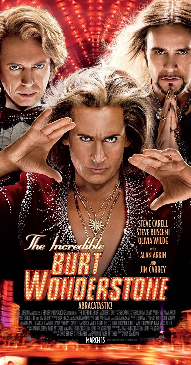 Watch Full HD Movie The Incredible Burt Wonderstone (2013)
