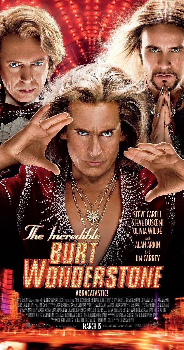 Subtitle of The Incredible Burt Wonderstone