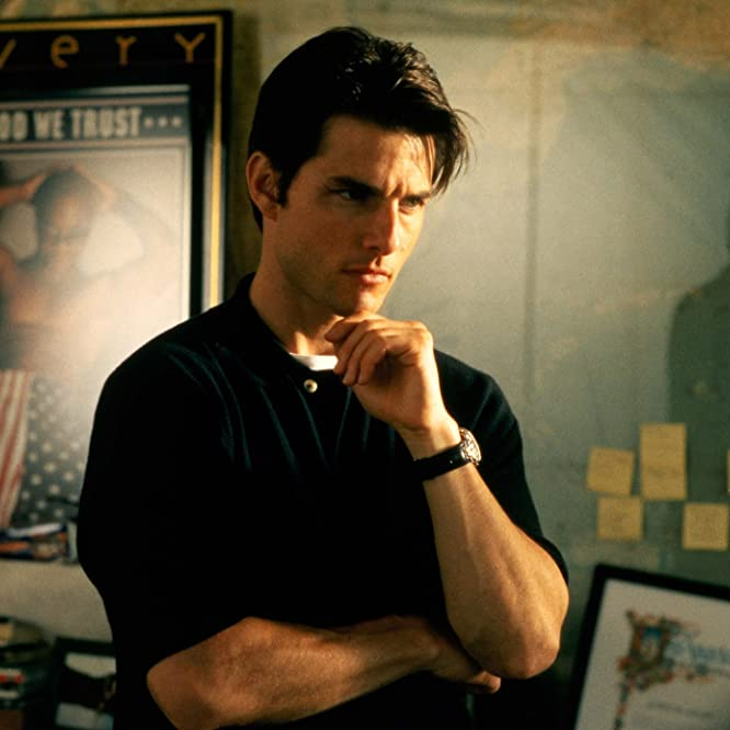 Tom Cruise in Jerry Maguire (1996)