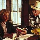 Richard Farnsworth and Frances Sternhagen in Misery (1990)