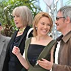 Kylie Minogue, Leos Carax, Denis Lavant, and Edith Scob at an event for Holy Motors (2012)