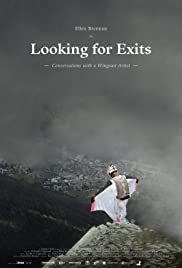 Looking for Exits: Conversations with a Wingsuit Artist Poster