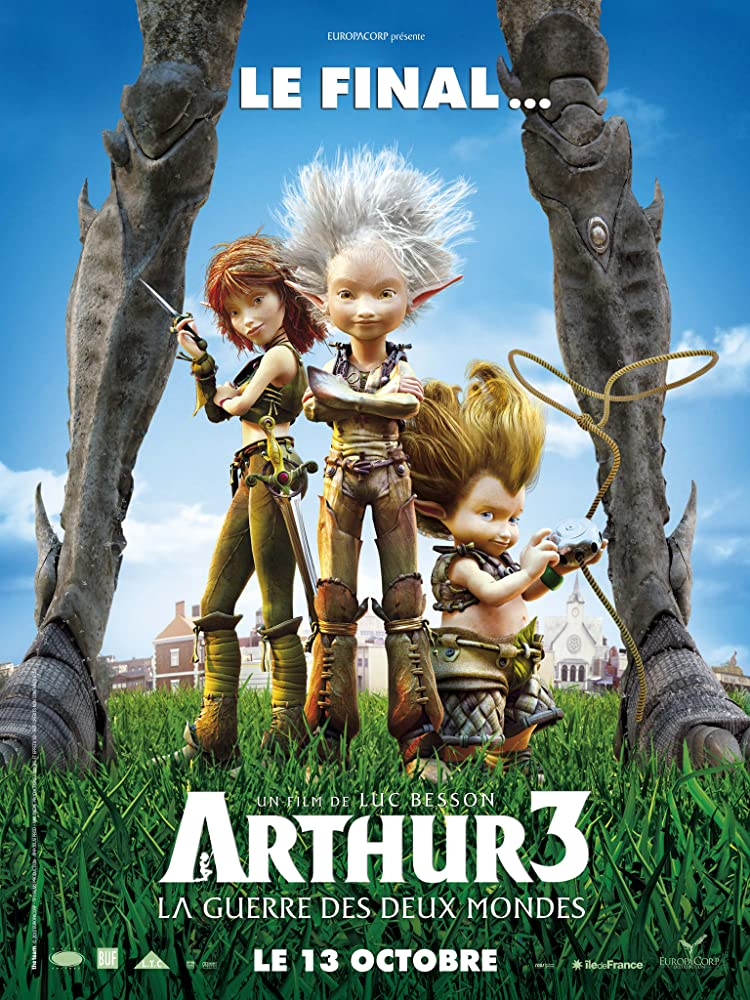 Arthur 3: The War of the Two Worlds 2010 Hindi Dual Audio 900MB BluRay ESubs