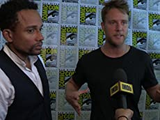 Comic-Con 2015: IMDb Interviews - Jake McDorman and Hill Harper on
