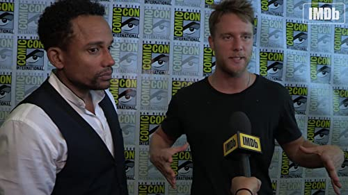 "Comic-Con 2015: IMDb Interviews -  Jake McDorman and Hill Harper on ""Limitless"""