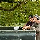 Stephen Frears and Luke Evans in Tamara Drewe (2010)