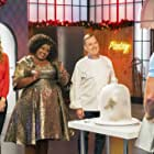 Lauren Lapkus, Jacques Torres, and Nicole Byer in Nailed It! Holiday! (2018)