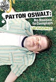 Primary photo for Patton Oswalt: No Reason to Complain