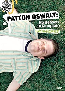 Hollywood hd movies direct download Patton Oswalt: No Reason to Complain by Jason Woliner [mkv]