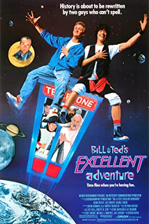poster for Bill & Ted's Excellent Adventure