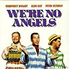 Humphrey Bogart, Peter Ustinov, and Aldo Ray in We're No Angels (1955)