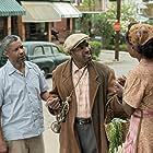 Denzel Washington, Viola Davis, and Mykelti Williamson in Fences (2016)