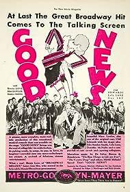 Ann Dvorak, Cliff Edwards, Lola Lane, Mary Lawlor, Bessie Love, Gus Shy, Penny Singleton, and Stanley Smith in Good News (1930)