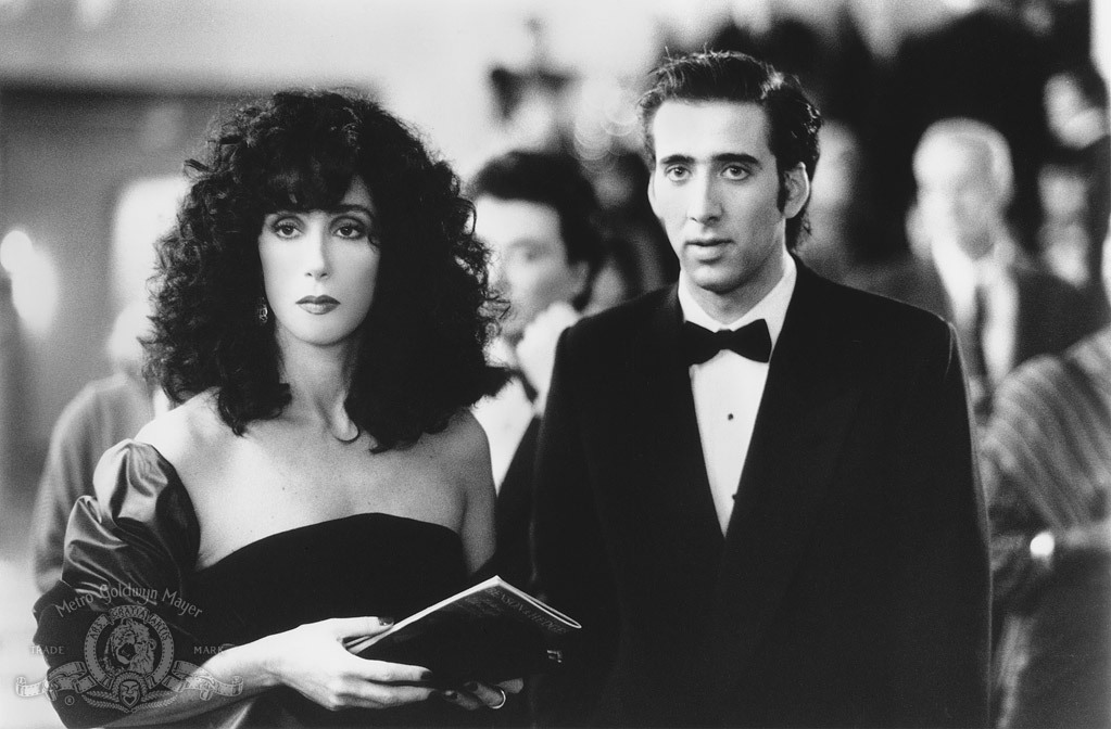 Nicolas Cage and Cher in Moonstruck (1987)