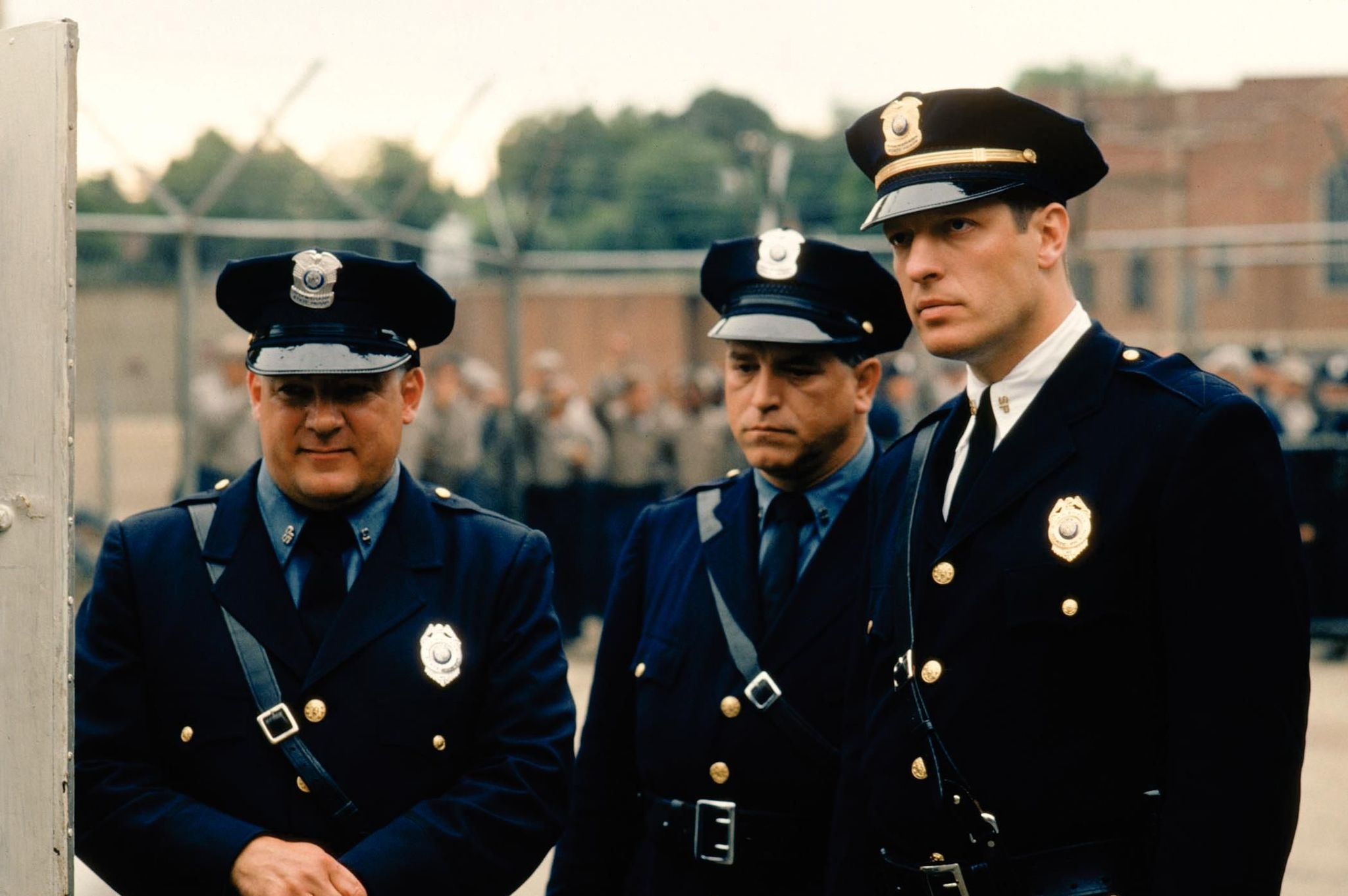 Clancy Brown, Dion Anderson, and Brian Delate in The Shawshank Redemption (1994)