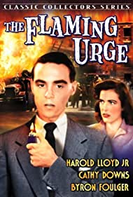Cathy Downs and Harold Lloyd Jr. in The Flaming Urge (1953)