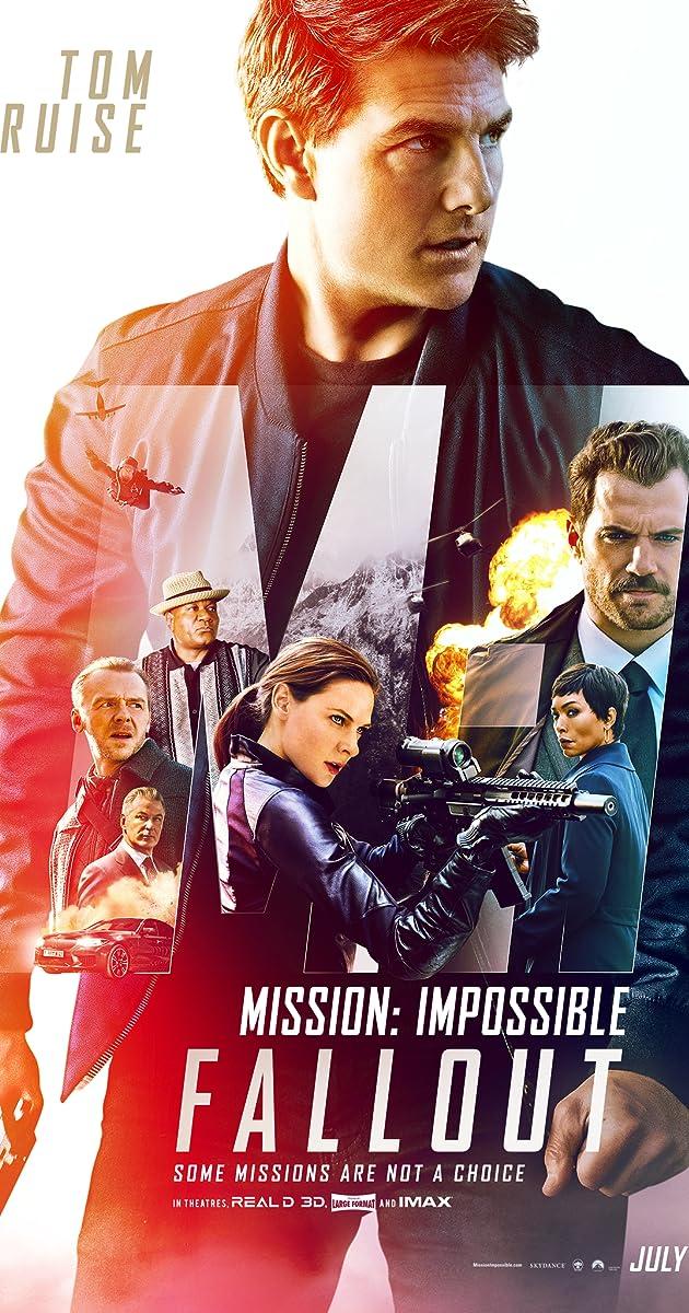 Neįmanoma misija: atpildo diena / Mission: Impossible - Fallout (2018)