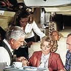 Leslie Nielsen, Julie Hagerty, Howard Honig, and Mary Mercier in Airplane! (1980)