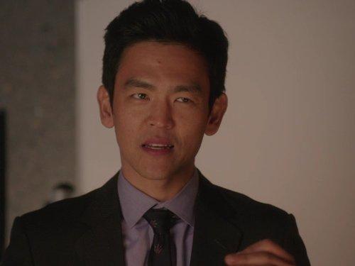 John Cho in Go On (2012)