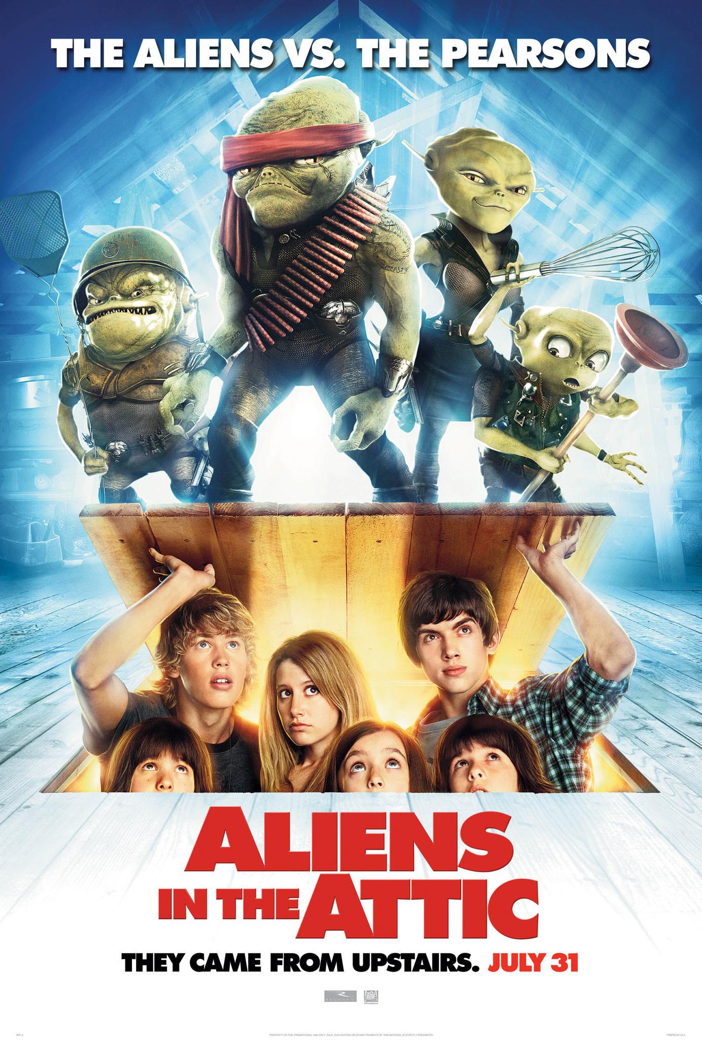 Aliens In The Attic 2009 Imdb