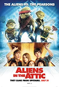 Downloaded movie quality Aliens in the Attic [720pixels]