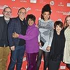 Merry Clayton, Táta Vega, John Cooper, Caitrin Rogers, and Judith Hill at an event for Twenty Feet from Stardom (2013)
