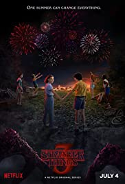 View Stranger Things - Season 2 (2017) TV Series poster on Ganool