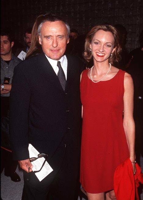Dennis Hopper and Victoria Duffy at an event for Moll Flanders (1996)