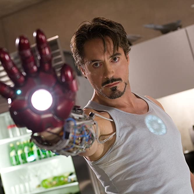 Robert Downey Jr. in Homem de Ferro (2008)
