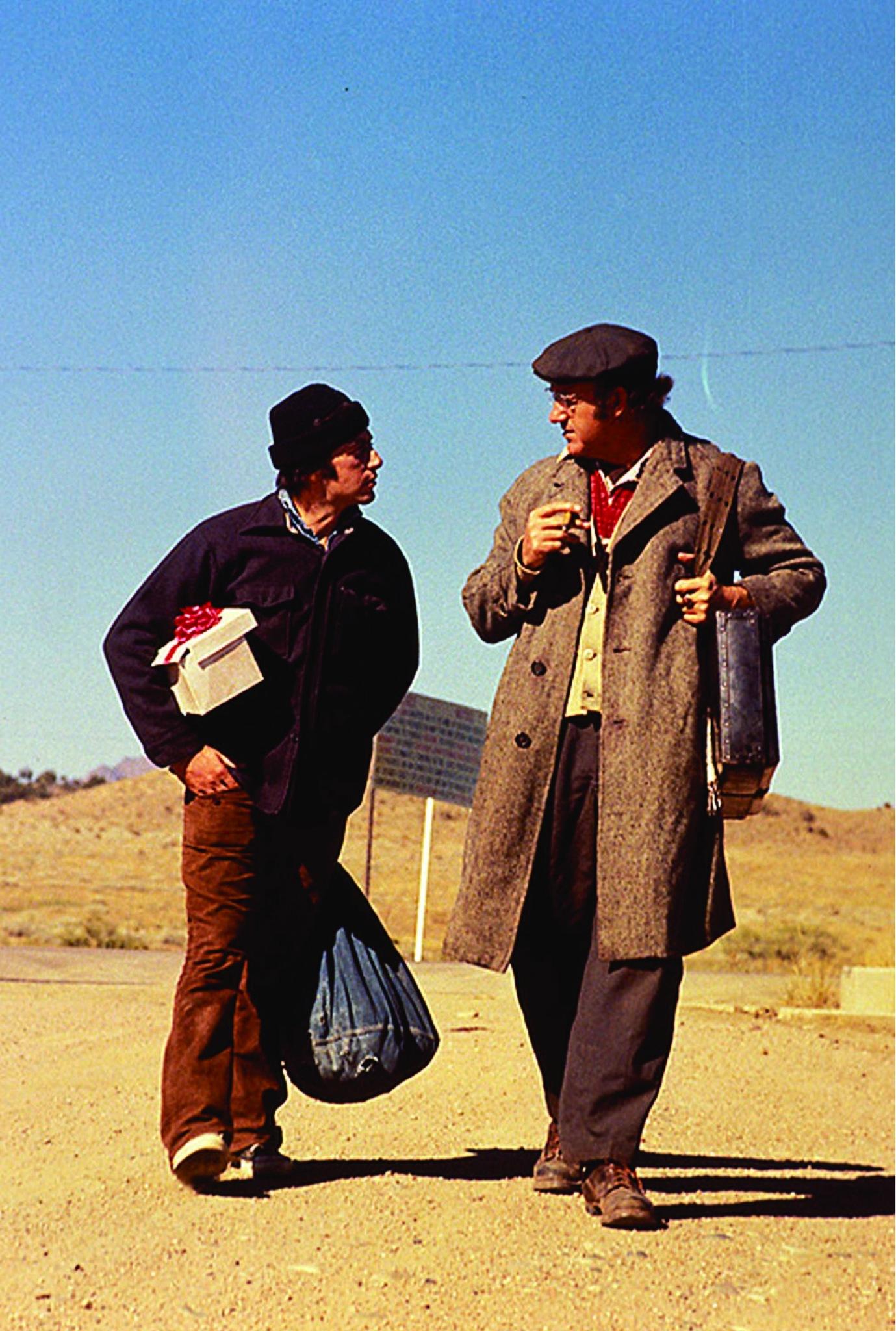 Al Pacino and Gene Hackman in Scarecrow (1973)