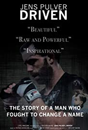 Jens Pulver: Driven Poster