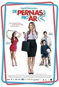 Bruno Garcia, Ingrid Guimarães, Maria Paula, and João Fernandes in De Pernas pro Ar (2010)