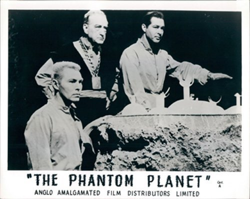 Francis X. Bushman, Anthony Dexter, and Dean Fredericks in The Phantom Planet (1961)