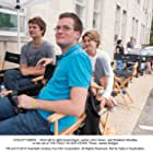 Shailene Woodley, John Green, and Ansel Elgort in The Fault in Our Stars (2014)