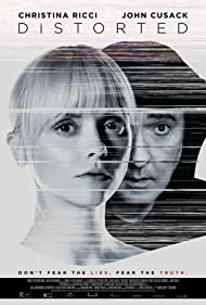 John Cusack and Christina Ricci in Distorted (2018)