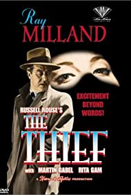 Ray Milland in The Thief (1952)