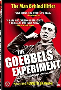 Primary photo for The Goebbels Experiment