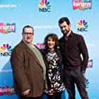 Andrea Martin, Paul Vogt, and Billy Eichner at an event for Hairspray Live! (2016)