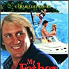 Gérard Depardieu, Katherine Heigl, and Dalton James in My Father the Hero (1994)