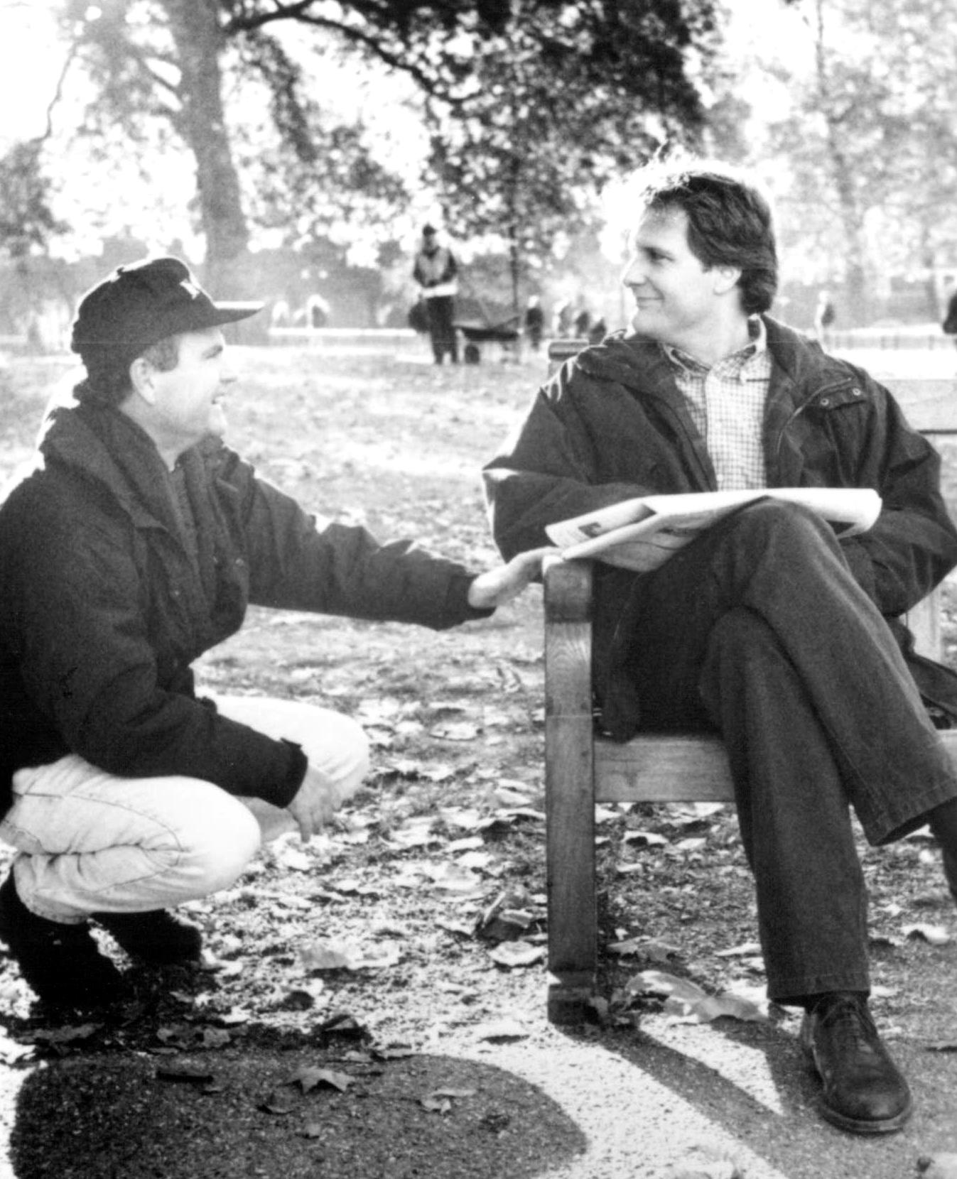 Jeff Daniels and Stephen Herek in 101 Dalmatians (1996)