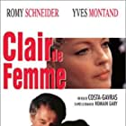 Romy Schneider and Yves Montand in Clair de femme (1979)