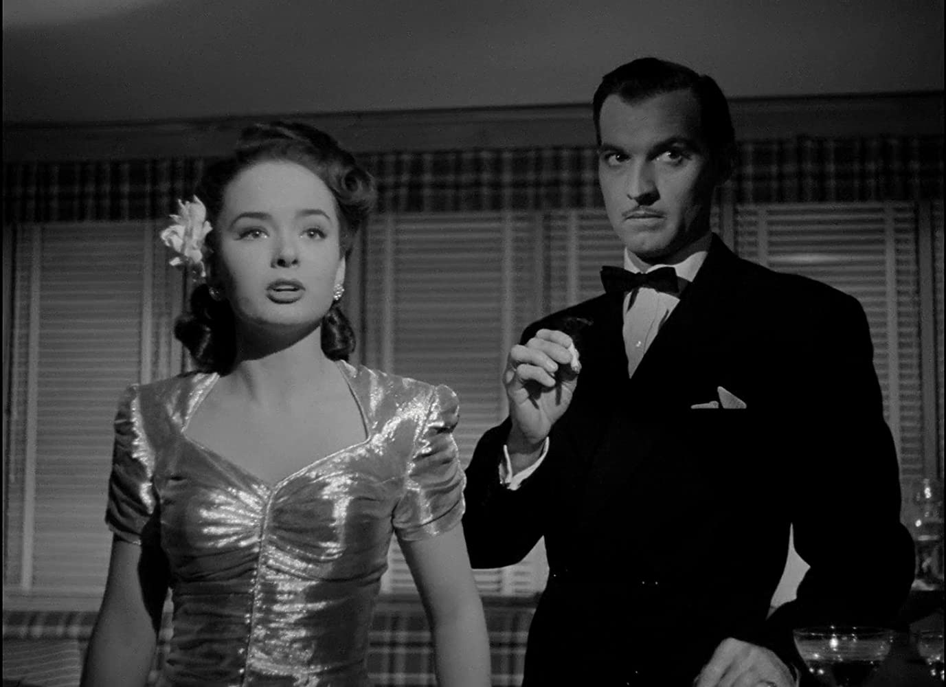 Ann Blyth and Zachary Scott in Mildred Pierce (1945)