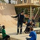 Mark Wahlberg, Will Ferrell, Linda Cardellini, LaJessie Smith, Grayson Thorne Kilpatrick, D'Vitrius Shirley-Davie, and Joshua Probus in Daddy's Home (2015)